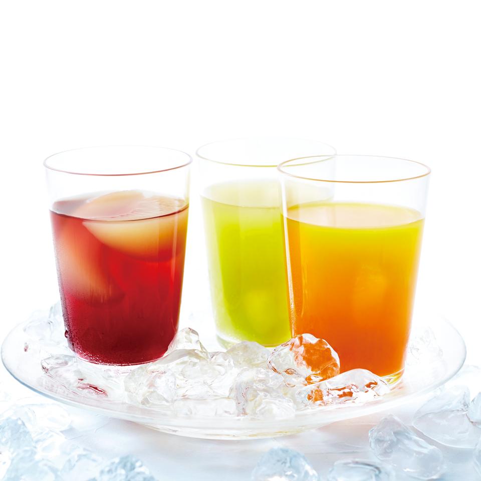 フルーツグラスゼリー (王林&ふじりんご)