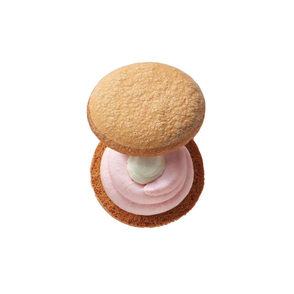 桃のショートケーキ(岡山清水白桃使用)