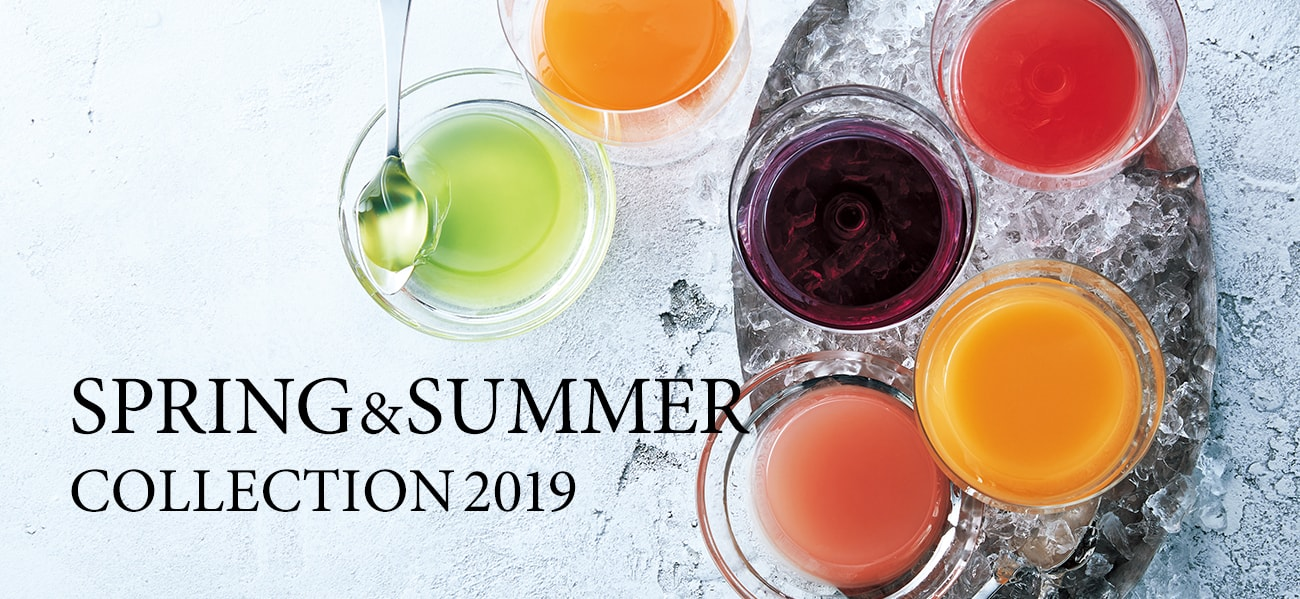 SPRING&SUMMER COLLECTION2019