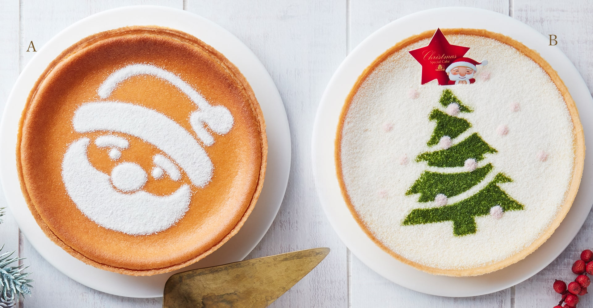 CHRISTMAS MASCARPONE CHEESE CAKE CHRISTMAS DENMARK CREAM CHEESE CAKE